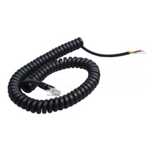 8 core retractable extension cord flexible lan cable with RJ45 plug