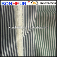 tc stripe yarn dyed shirt fabric crinkle free fabric