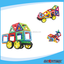 Amazing Pulling Magnetic Blocks,Magnet Assembly Construction Piece Puzzle Children's Toys