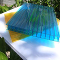 Best price hangmei greenhouse lexan twin-wall polycarbonate hollow sheet with uv coated
