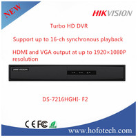 2016 Hikvision hd tvi dvr,16 channel hikvision dvr DS-7216HGHI- F2