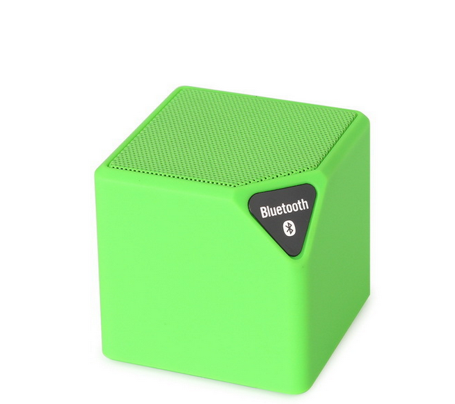 Active Mp3 Player Mini Bass Cube Car Bluetooth Speaker