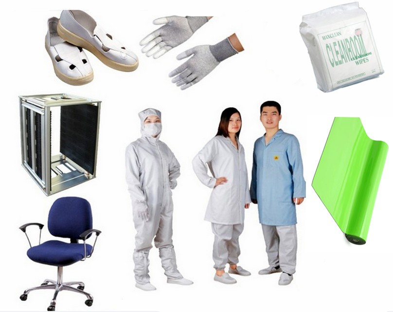 Dust free High absorption style Cleanroom microfiber wiper