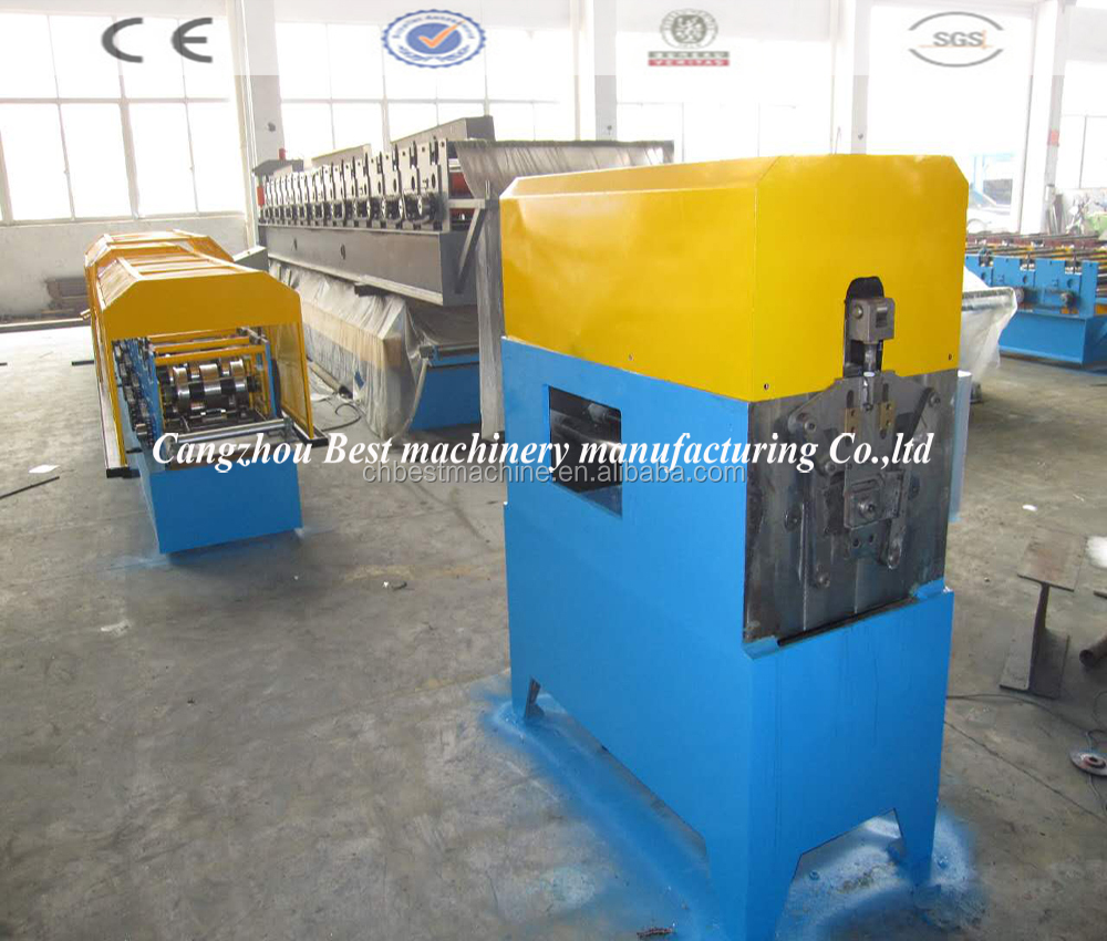 Round /square water tube/gutter tile roll forming machine