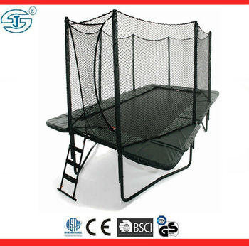 New Rectangle 10x17 Feet Trampoline Safety Net Pads Mat