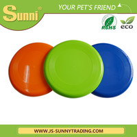 "Colorful Pet Product Healthy PVC 9"" Dog Flying Frisbee Toy For Sale"