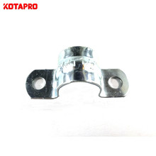 Customized Half Saddle Small Conduit Pipe Caddle Clamp Pipe Strap 1/2