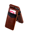 With Two Card Slot Kickstand Leather Case For Iphone 6 /6plus