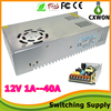 30A 110/220V Aluminum Case 350w Power Supply with Cooling Fan 12V AC/DC Swith Power Supply