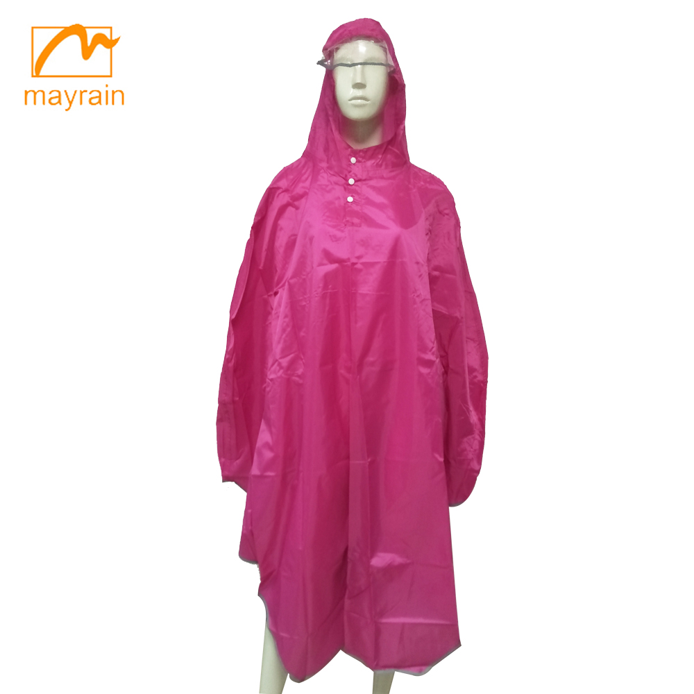 High Quality PVC Coated Rain Poncho