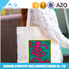 2016 New products organic shopping bags PP non woven bags women