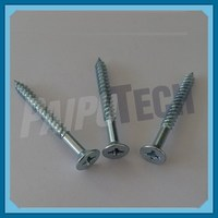 Metric Anodised Aluminum Wood Screws