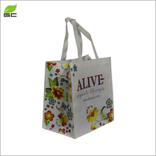 Environmental Friendly Printed Recycled New Design Personalised Non Woven Shoulder Tote Bags