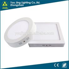 Zhongshan Top 10 5700k 6500k panel led light led flat panel wall light