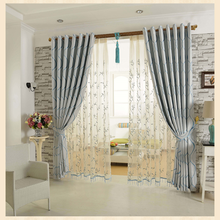Eyelet style beautiful elegant curtains for living room