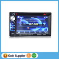 Car DVD player, hot sale 6.5 inch touch screen DOUBLE Din multimedia car CD/DVD Player