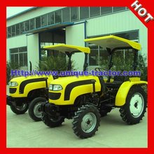 Yellow Small Agricultural Tractor With Canopy