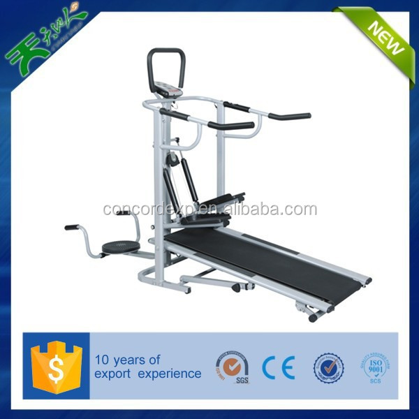 2015 china supplier fitness modells Manual treadmill