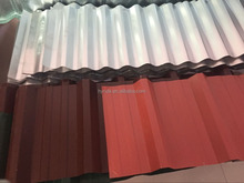 high quality colored zinc aluminium corrugated roofing sheets galvanized corrugated steel sheet for roofing