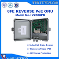 PAC PON 8FE Reverse PoE ONU GEPON ONU for FTTB/FTTC Outdoor Application