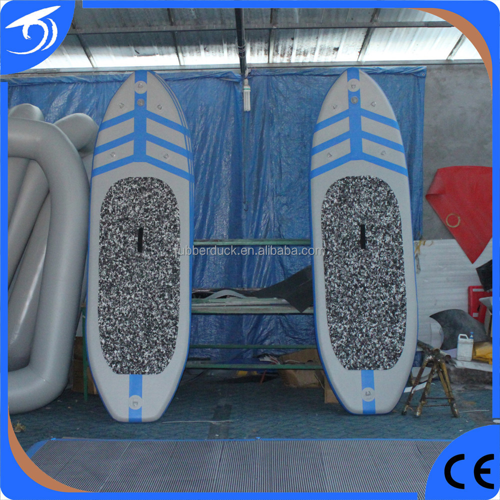 High Quality Inflatable Cheap Fish SurfBoard with Military Grade PVC