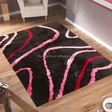 Fashionable hot-sale sculptured shaggy carpets made in China
