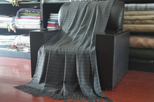 plaid super soft new style Alpaca Wool Blanket
