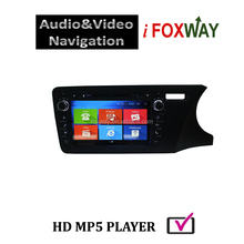 WVGA 8'' 16:9 digital LED screen, 1024X600pixels, full capacitive touch screen car dvd player for honda city