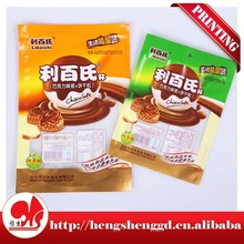 plastic bags of Puffed food,food packaging pouch