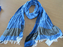 Hot Selling Cotton Check Scarf
