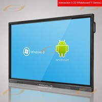 "55"" FHD large format IR 10points multi-touch LCD touch screen monitor"