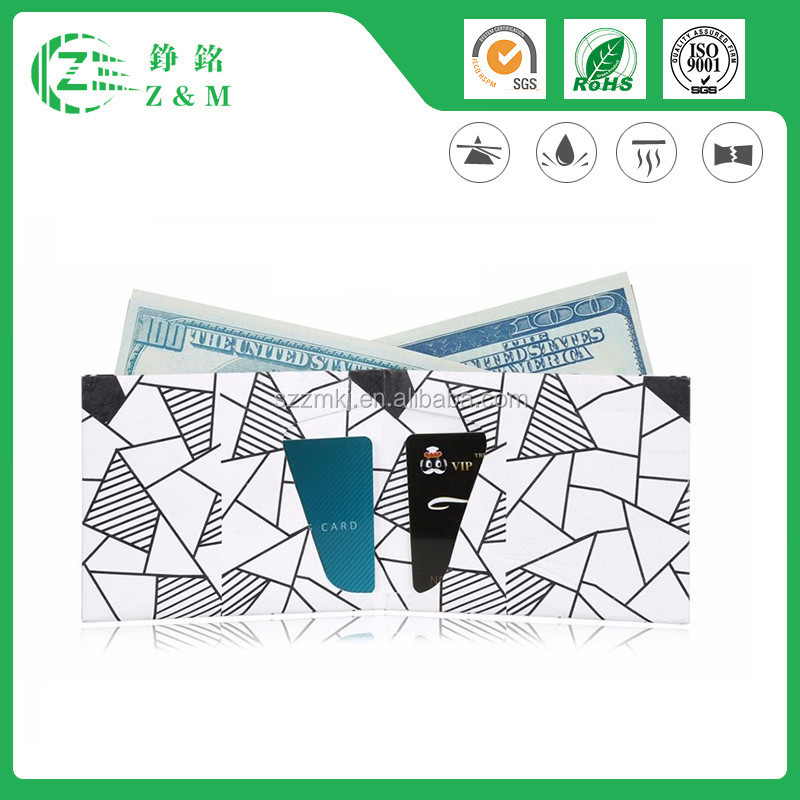 Hot Sale New Design Customized Magic Tyvek Wallet