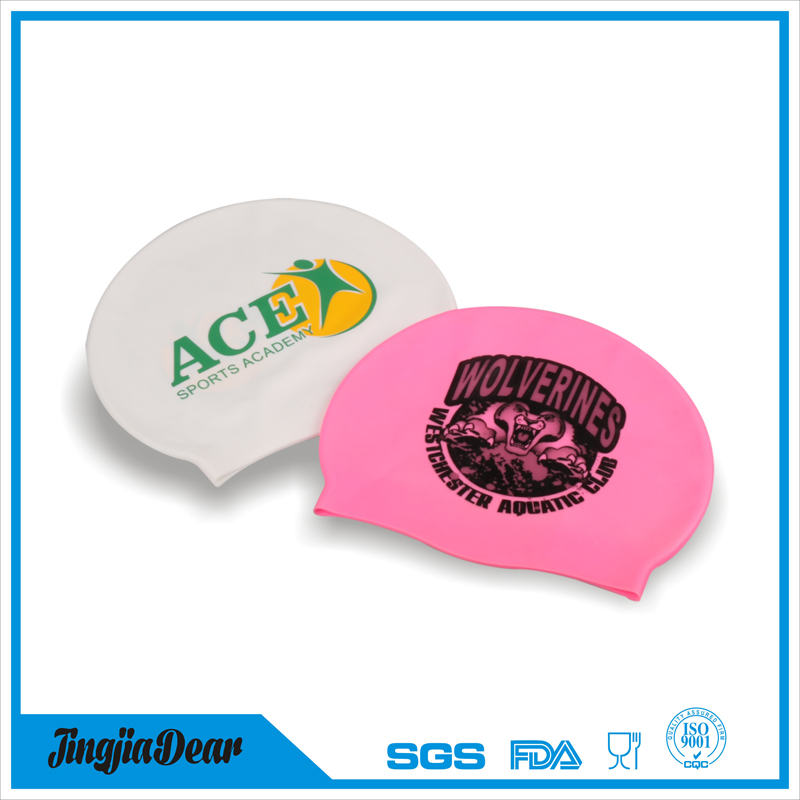 Personality Waterproof Cartoon Novelty Silicone Swim Cap