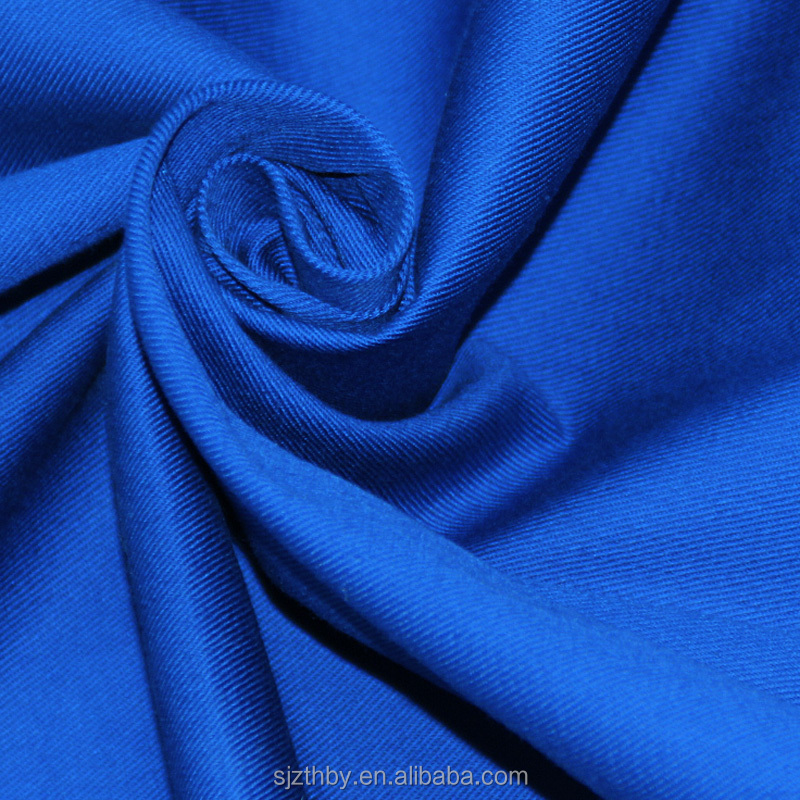 100 cotton dyed stock fabric twill