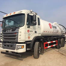 JAC 6*4 6*6 full drive pressure Vacuum tanker pump sewage suction truck , sewage tank truck , liquid water suction truck