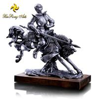 Antique Polyresin Ornament Decor Rider And