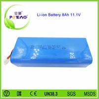 18650 li-ion battery 12v 8000mah for unmanned aerial vehicle