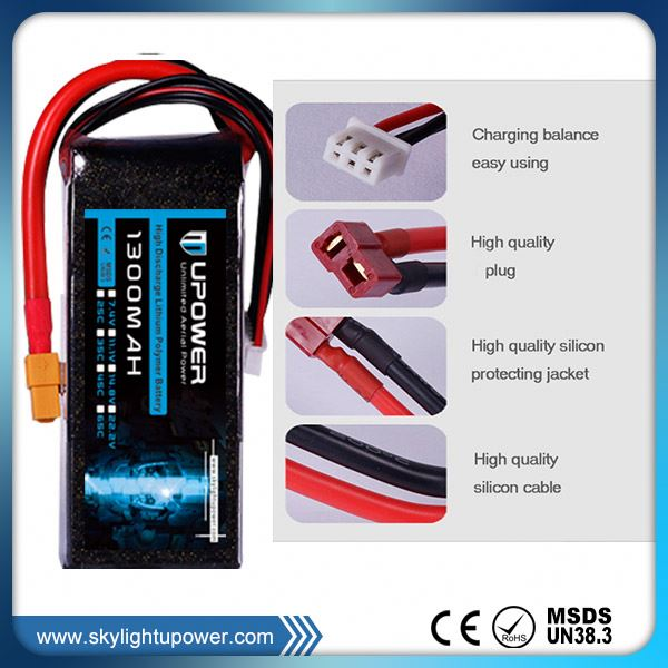 helicopter FPV racing high voltage and high C-Ratings lithium battery technology