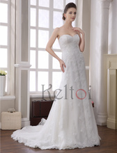 latest design sweetheart A line bridal wedding gowns wholesale price