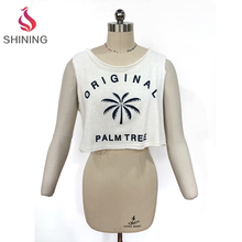 Trade assurance tank tops slim fit ladies new design fashion top yoga tank tops