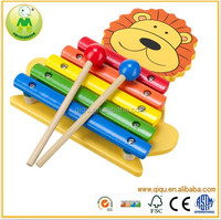 Animal Lion Xylophone Musical Instruments toy Baby/Toddler/Child Wooden Toys Music