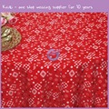 MY4275G wholesale wedding satin Bandana printed tablecloth