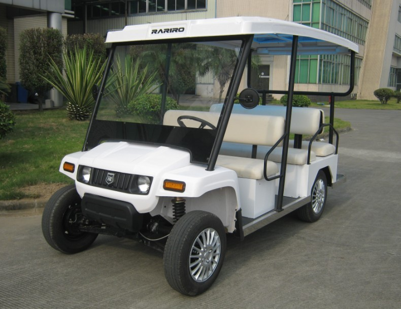 Cheap price handmade resort 4KW battery operated new club car