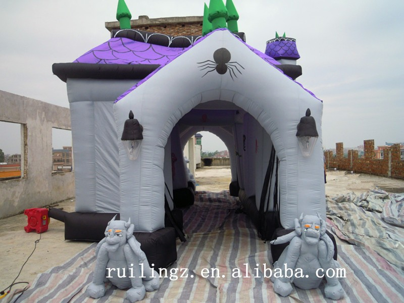 rl commercial halloween decorationsinflatable haunted house for sale buy commercial inflatable haunted housecommercial halloween decorations commercial - Commercial Halloween Decorations