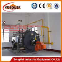 Waste oil burner boiler for heating floor