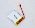 high quality GEB 703443 polymer li ion rechargeable battery 3.7v 1100mah