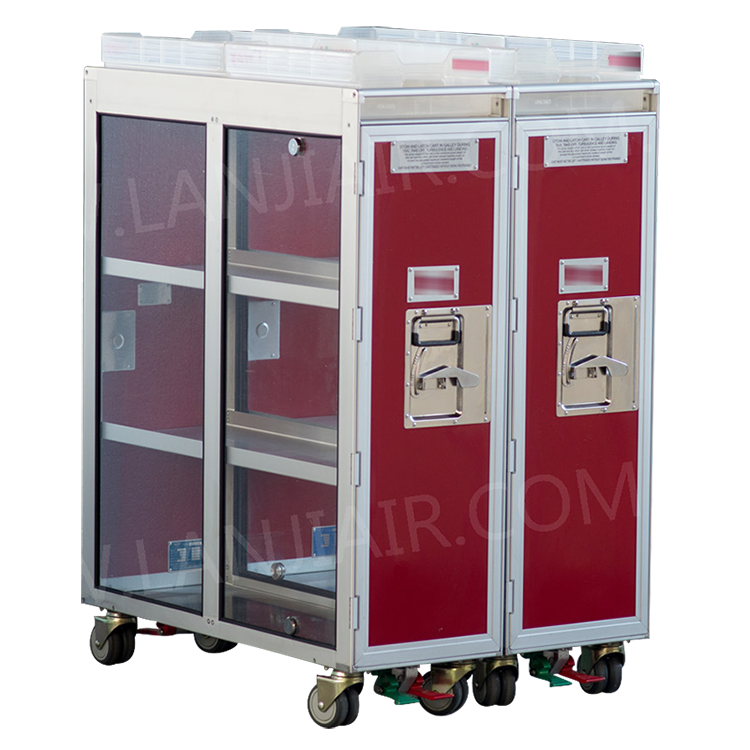 Aluminum Airline Food Trolley