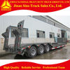 Transporting Heavy Machines Tri Axles Low
