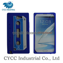 For Samsung Note 2 N7100 Phone Tape Shape Silicon Case
