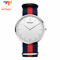 InTimes Own Brand big size Man Stee Case 41mm Nylon Band 20m Quartz Analog 5ATM IT-PC2103GN Wholesale luxury watches